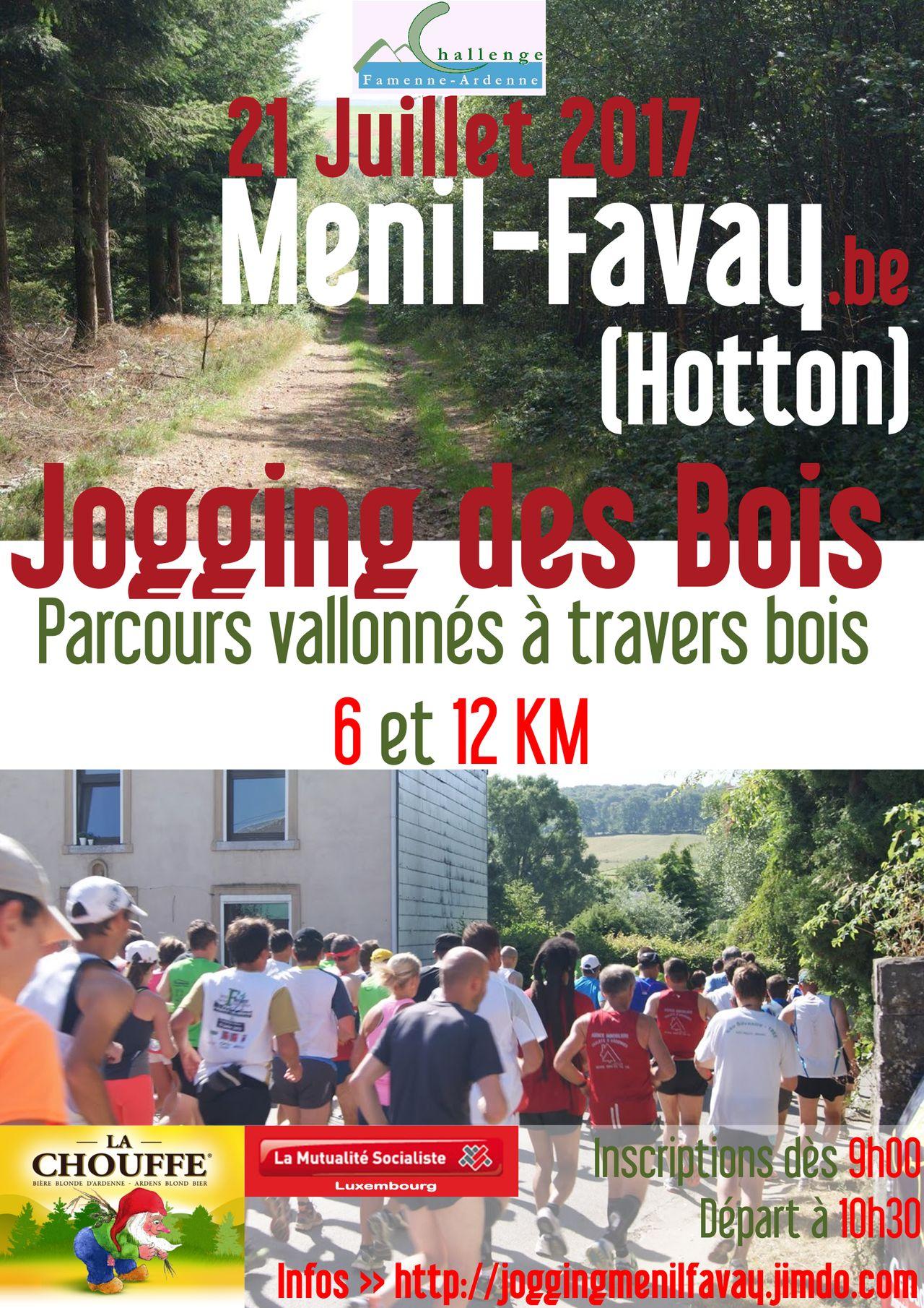 Affiche Jogging 21 juillet 2017 Menil